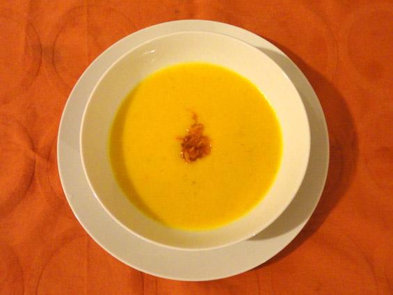 βελουτέ καροτόσουπα