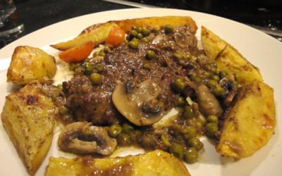 Φιλέτο Μοσχάρι με λαχανικά