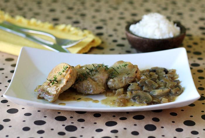 ψαρονέφρι με μανιτάρια και μουστάρδα 1