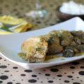 ψαρονέφρι με μανιτάρια και μουστάρδα 4