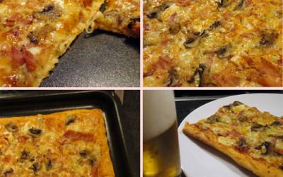 Πίτσα σε 25 λεπτά (με έτοιμο ζυμάρι)