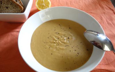 Σούπα βελουτέ με κόκκινες φακές