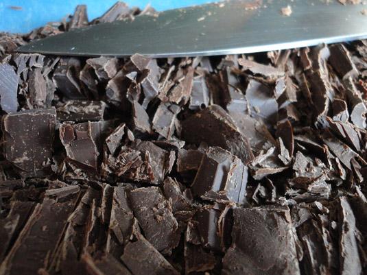 σοκολάτα ψιλοκομμένη