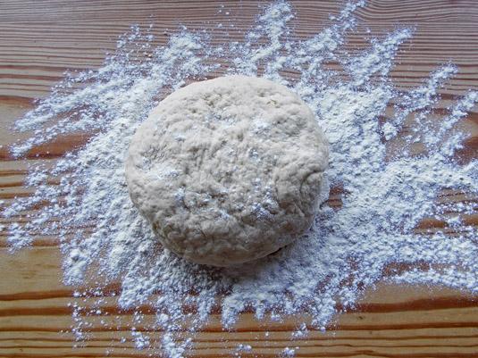 ζύμη για ψωμάκια