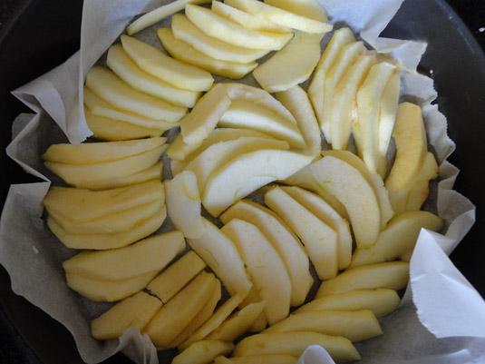 μήλα στο ταψί