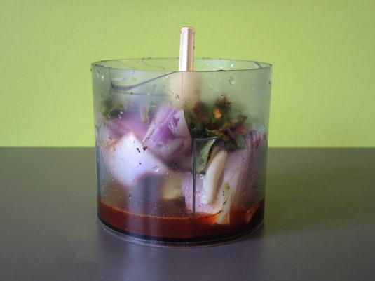 υλικά για σάλτσα με τσίλι πιπεριά πίρι πίρι