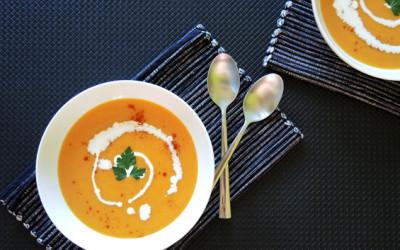 Σούπα κολοκύθας βελουτέ