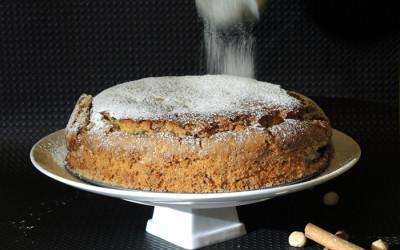 Κέικ με ταχίνι και κομμάτια σοκολάτας
