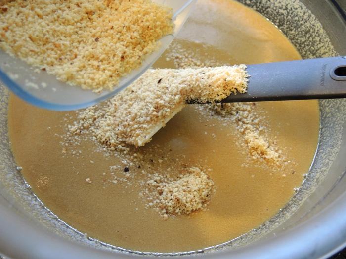 μείγμα για κέικ με ταχίνι και σκόνη φουντουκιού