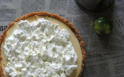 Lime pie (Μοσχολεμονόπιτα)