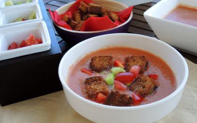 Γκασπάτσο (Ισπανική ντοματόσουπα)