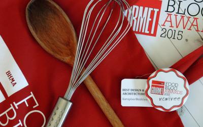 Food Blog Awards 2015: To γεύμα γνωριμίας