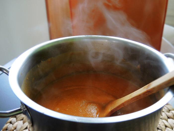 σούπα γλυκοπατάτας βελουτέ