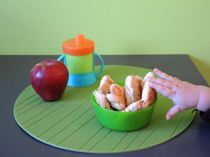 μπισκότα με μήλο για μωρά