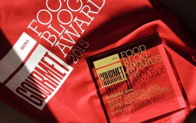 Food Blog Awards 2015: Η Απονομή