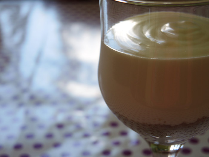 ποτήρι με κρέμα γιαουρτιού