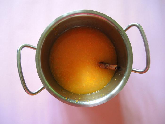 σιρόπι για πορτοκαλόπιτα