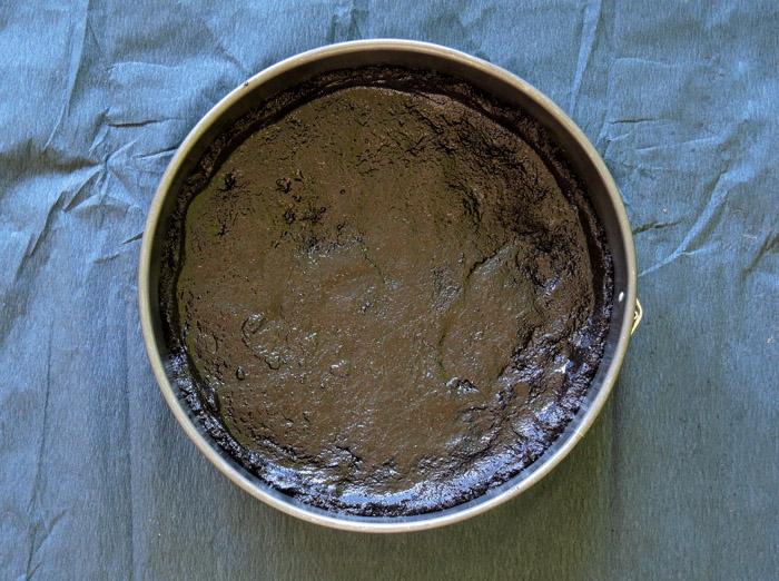 βάση για τάρτα σοκολάτας στη φ'ορμα