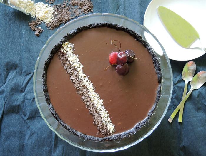 τάρτα σοκολάτα 1