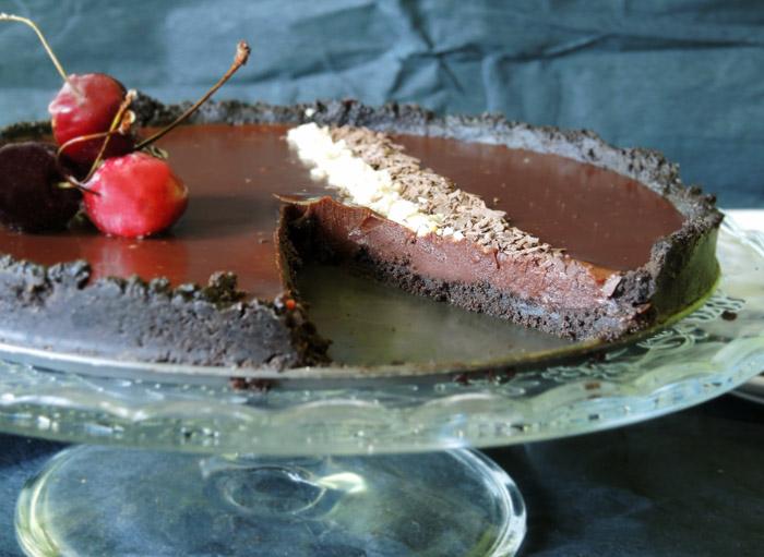 ταρτα σοκολάτα 3
