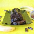 σοκολατένιο κέικ μπανάνας 1a