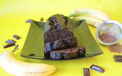 Σοκολατένιο κέικ μπανάνας