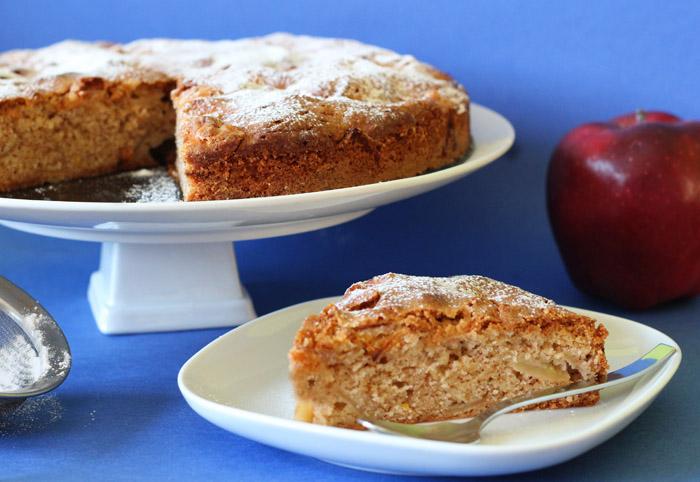 κέικ μήλου 2