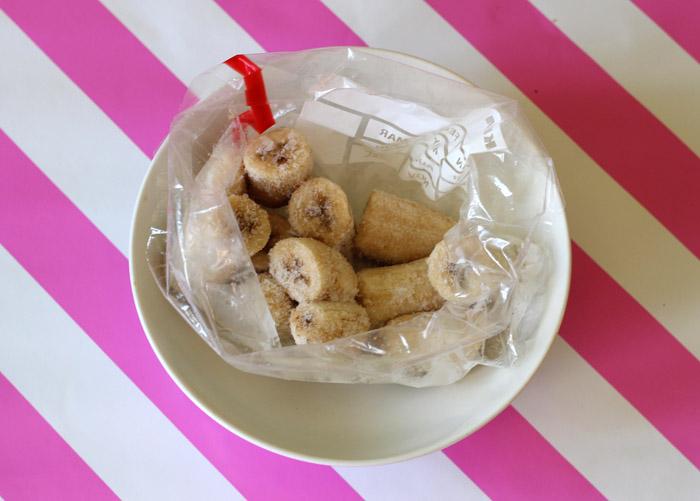 παγωμένες μπανάνες