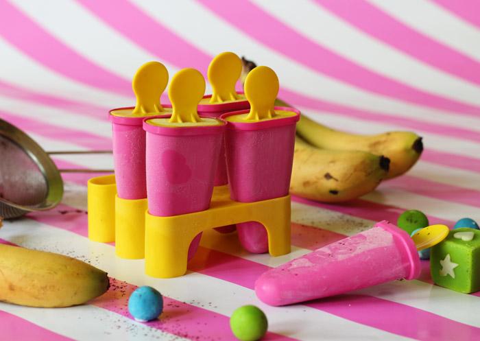 παγωτο σοκολατα μπανανα