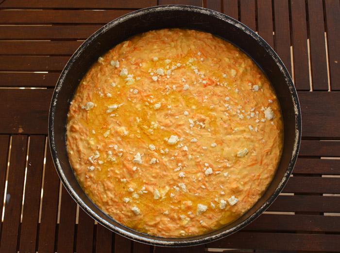 ζυμαρόπιτα με κολοκύθα στο ταψί
