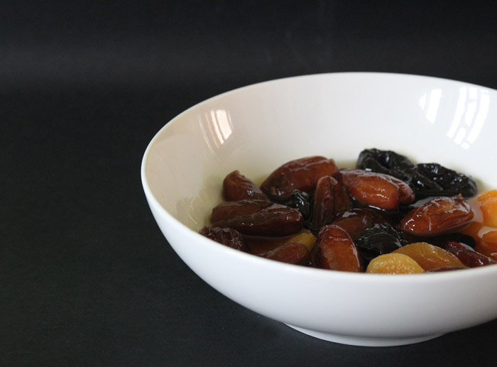 αποξηραμένα φρούτα στο λικερ