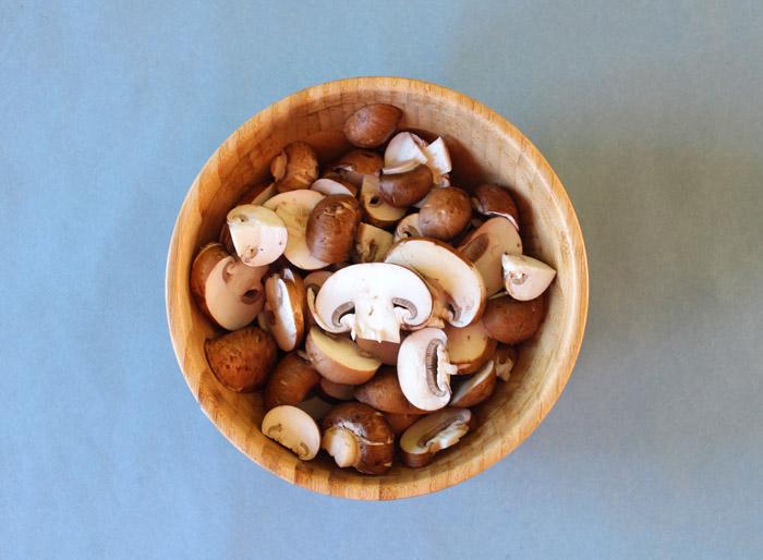 μανιτάρια cremini