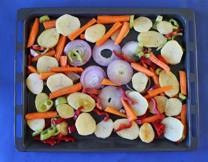 ταψί με λαχανικά