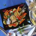 τσιπούρες με λαχανικά 2