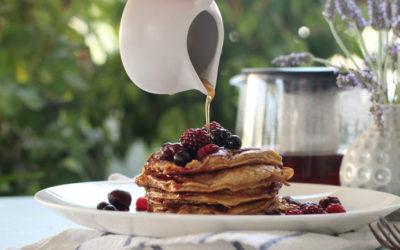 Pancakes, οι μπανανο-ομελετίτσες