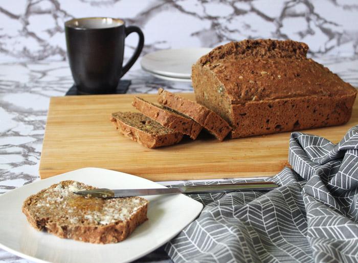 Πολύσπορο ψωμί σόδας