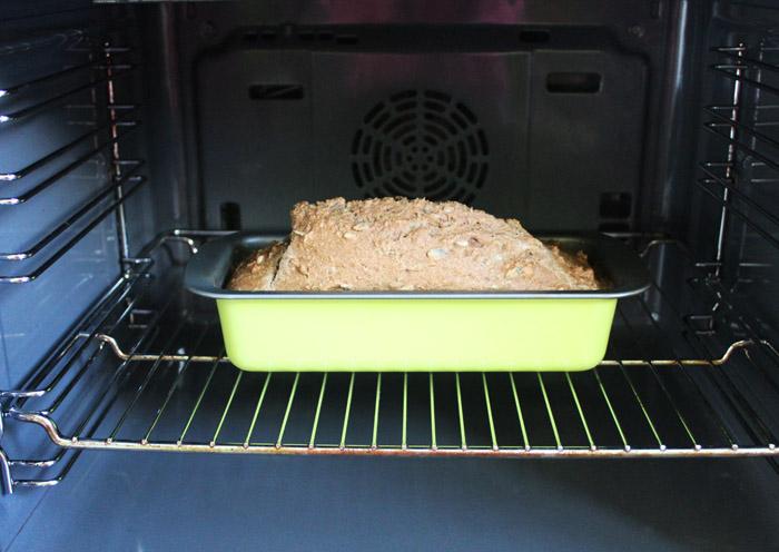 ψωμί σόδας στο φούρνο