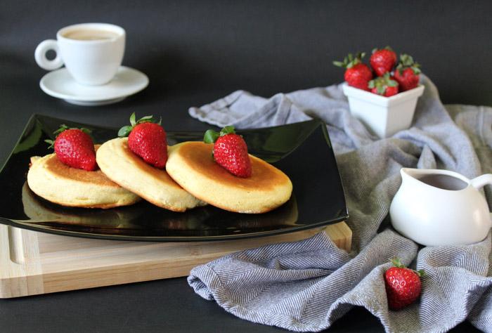 σουφλέ pancakes 1