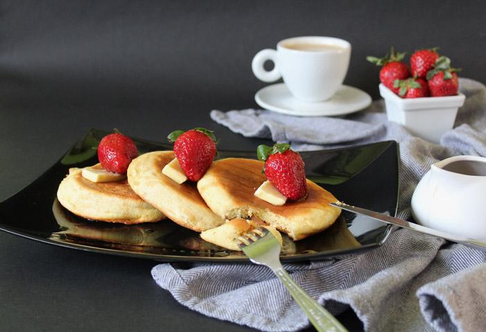 Σουφλέ pancakes – Tα πιο αφράτα pancakes